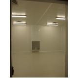 sala climática com controle de umidade relativa e temperatura Taubaté