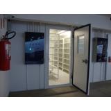 sala climática para uso laboratorial Palmital