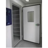 sala climática com controle de umidade relativa e temperatura